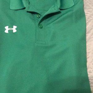 Under armor men's shirt xl green